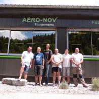 Voix Du Jura - Nouveaux locaux pour AERO-NOV