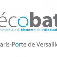 Ecobat Paris 2017 - Salon du bâtiment durable