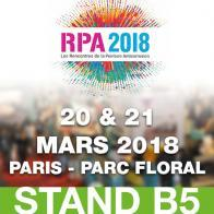 Salon RPA 2018 les 20 et 21 mars 2018